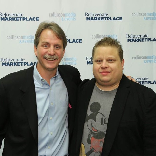 Thanks Jeff Foxworthy for reminding us that rednecks are really funny. #rejuvenateMP