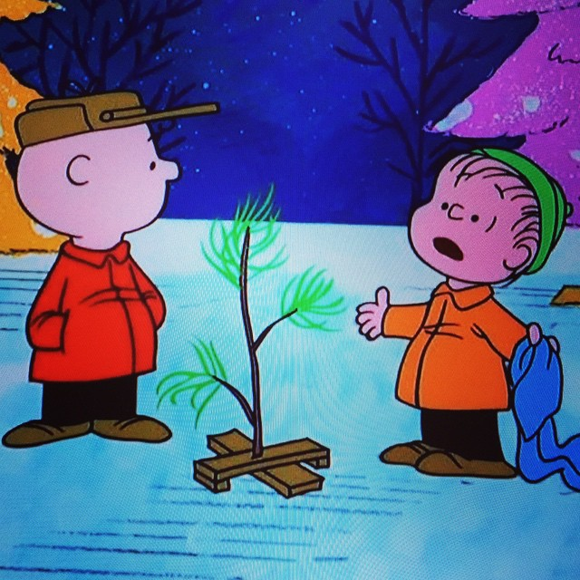 Thanks Charlie Brown for reminding us what Christmas is all about every year.