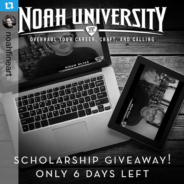 Huge #NoahU giveaway - @noahfineart with @repostapp.