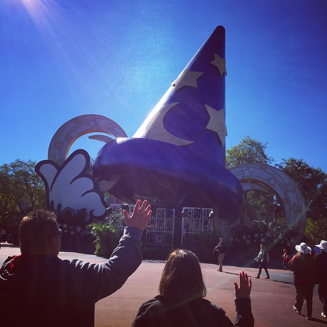 Today Sorcerer Mickey's size 605 7/8 hat comes down at…