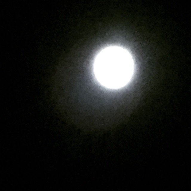 Full Moon, explains a lot! I would tell you to…